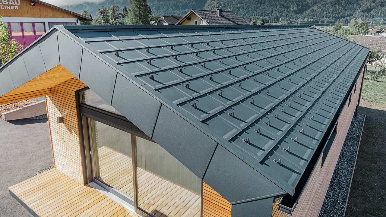 PREFA-Dachschindel aus Metall