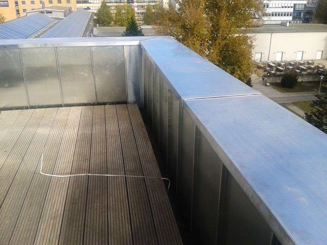 Aluminium Dacheindeckung